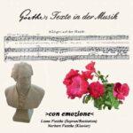 Goethetexte in der Musik - An den Frieden