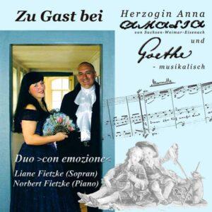 Zu Gast bei Anna Amalia und Goethe - Goethe Musik Shop