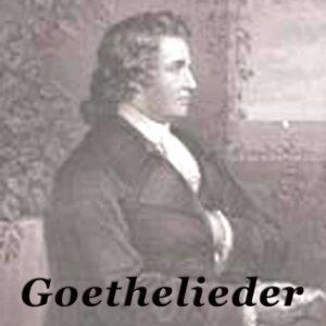 Goethe Vertonungen