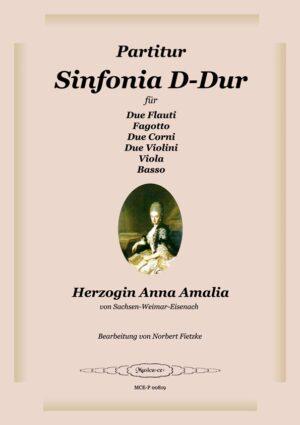 Sinfonia D-Dur-Partitur