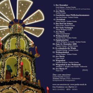 CD - Dezember - Inlay