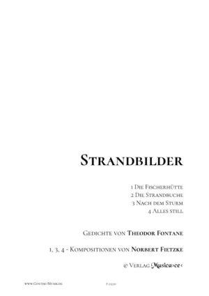 Strandbilder - Fontane - Deckblatt